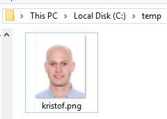 Folder on server